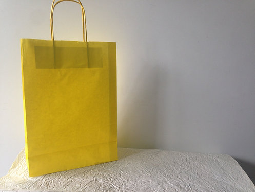 Vrećica srednja - žuta