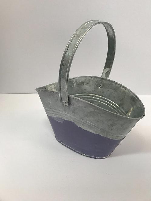 Tegla košara lavanda - 21,5x7,5x13 cm