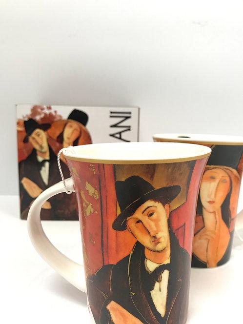 Amadeo Modigliani porculanšalica u ukrasnoj kutiji