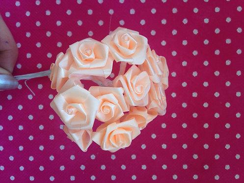 Basic ružice velike - boja breskve