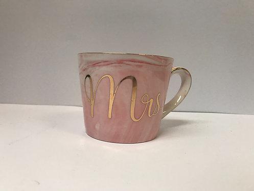 Šalica Mrs roza 606