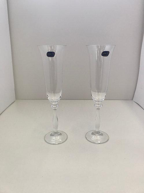 Kristalne čaše za šampanjac Angela