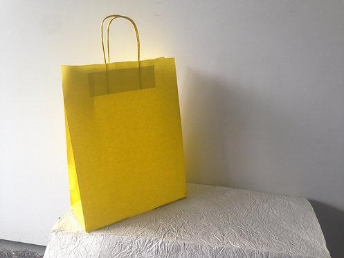 Vrećica velika - žuta