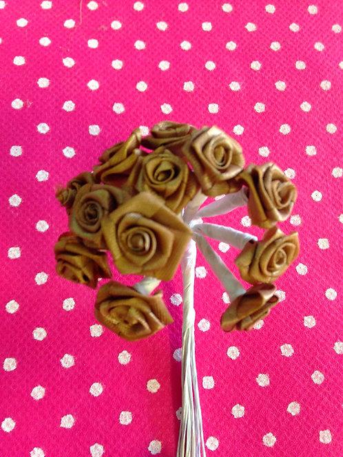Basic ružice male -smeđe