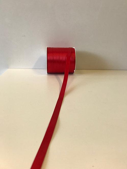 Saten traka crvena 10 mm x 100 m