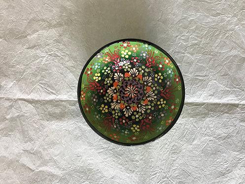 Ručni rad keramička posuda zelena