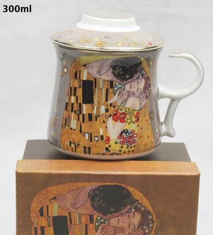 Šalica za čaj smeđa