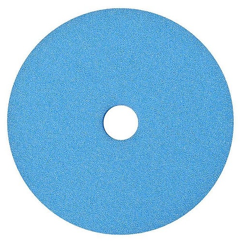 "Buff and Shine 7"" Uro-Tec Coarse Blue Heavy Cutting Foam Grip Pad 654BN"