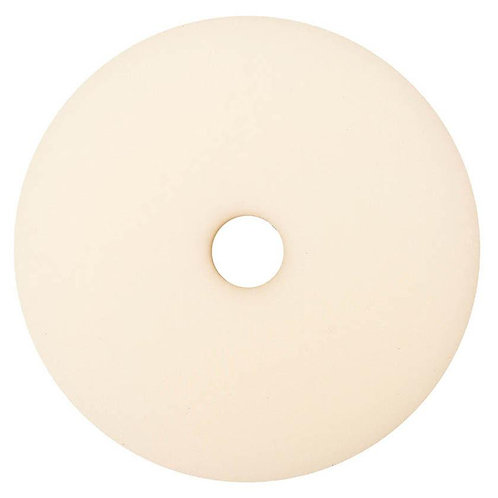 "Buff and Shine 5"" Uro-Tec Soft White Finishing Foam Pad Grip Pad #592BN"