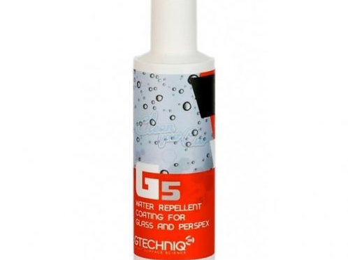 Gtechniq G5 Water Repellent Coating for Glass and Perspex, Clear Vision, 100ML