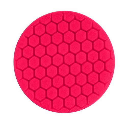 "Buff and Shine 7.5"" Center Ring Red Buffing Pad #621RH"