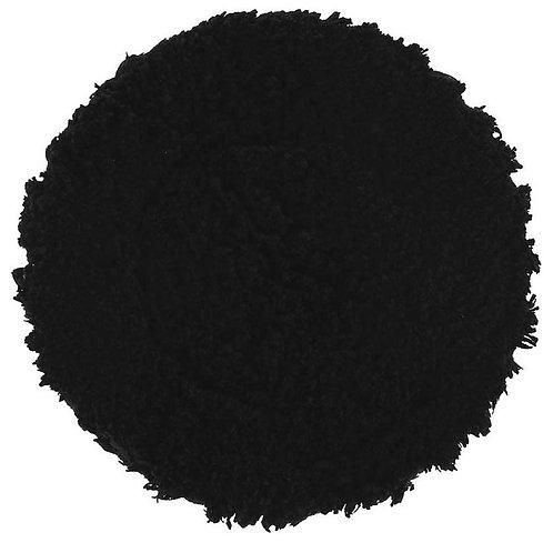 "Buff and Shine 6.5"" Black & Black Micro Fiber Finishing Grip Pad# 620MFP"
