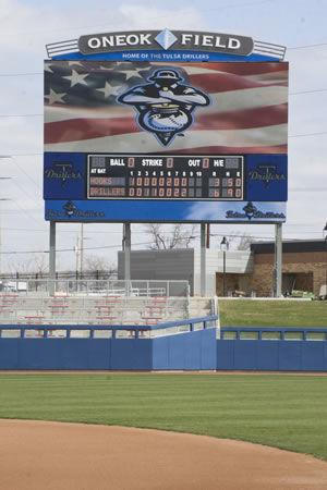 The Opening of ONEOK Field