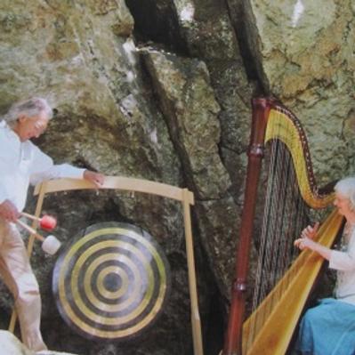 'Klangbegegnungen im Hier und Jetzt' - Konzert Harfe und Gong