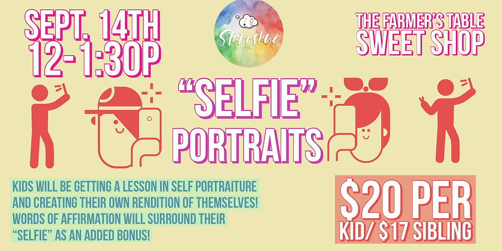 """Selfie"" Portraits"