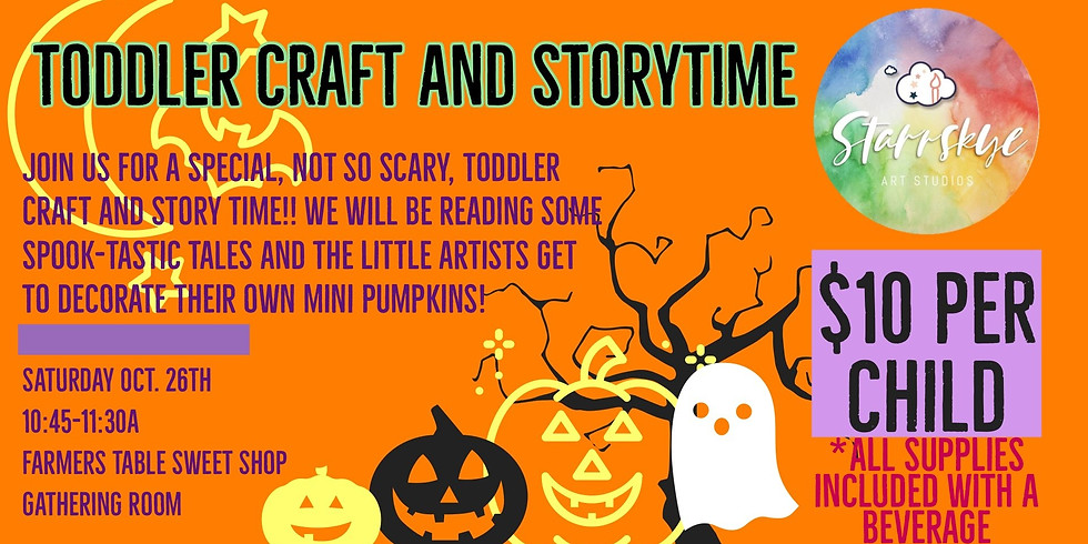 Toddler Craft & Story Time: Halloween