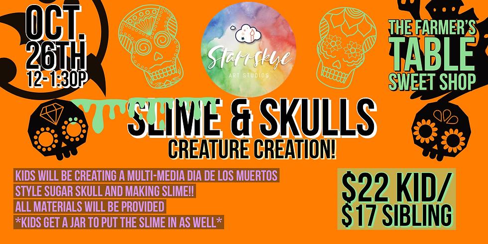 Skulls & Slime: Creature Creation!