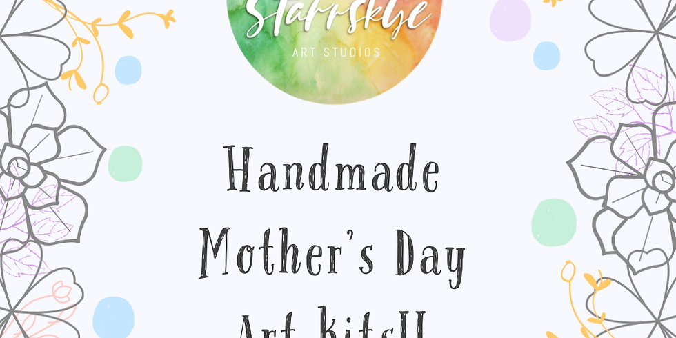 Mother's Day At Home Art Kits