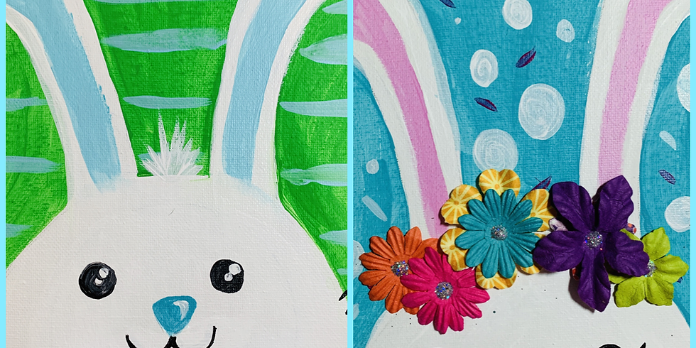 Bunnies & Brushes VIRTUAL CLASS