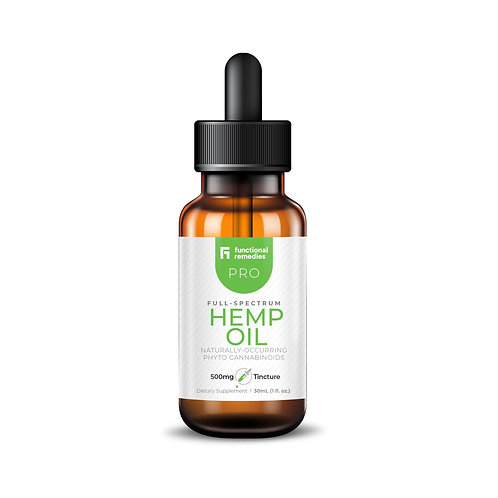 Functional Remedies Pro 500mg Tincture - 30ml