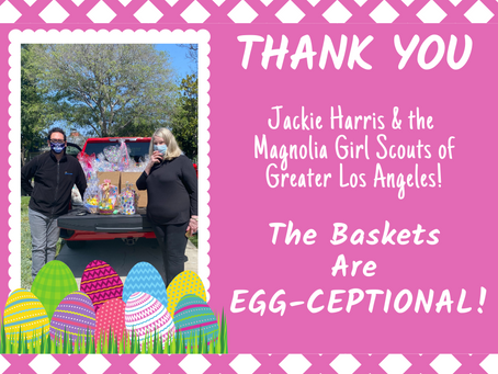 Girl Scouts Easter Basket Project