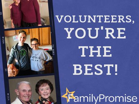 Volunteer Appreciation!