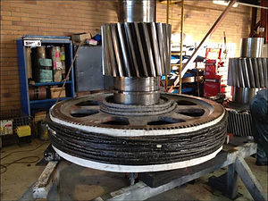 Inudction Heating, Heat Treatment, Shrink Fit, Induction, Mining, Gears, Shafts, Heat Shaft