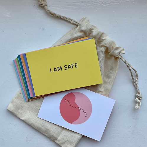 Pregnancy Positive Affirmation Cards
