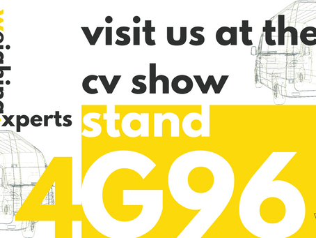Come and visit #TheWeighingExperts at the CV Show