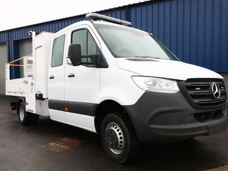 Vehicle Weighing Solutions build new partnership with Mackworth Vehicle Conversions