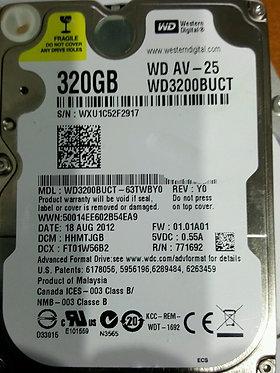 "WD Western Digital Hard Drive 2.5"""