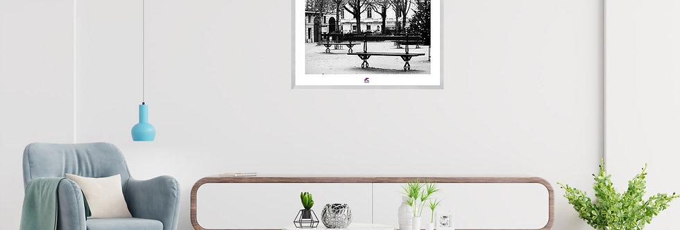 "PHOTOGRAPHIE D'ART ""L'ATTENTE"" |COLLECTION ""URBAN STREET"""