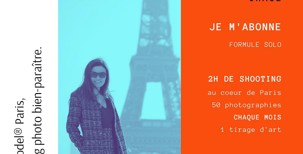 Abonnement mensuel SOLO |  The Be Model® Paris