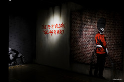 """Exposition THE """"FAKE"""" WORLD OF BANKSY"""
