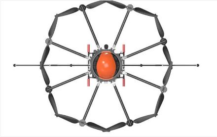 M8A Pro Agriculture UAV Sprayer