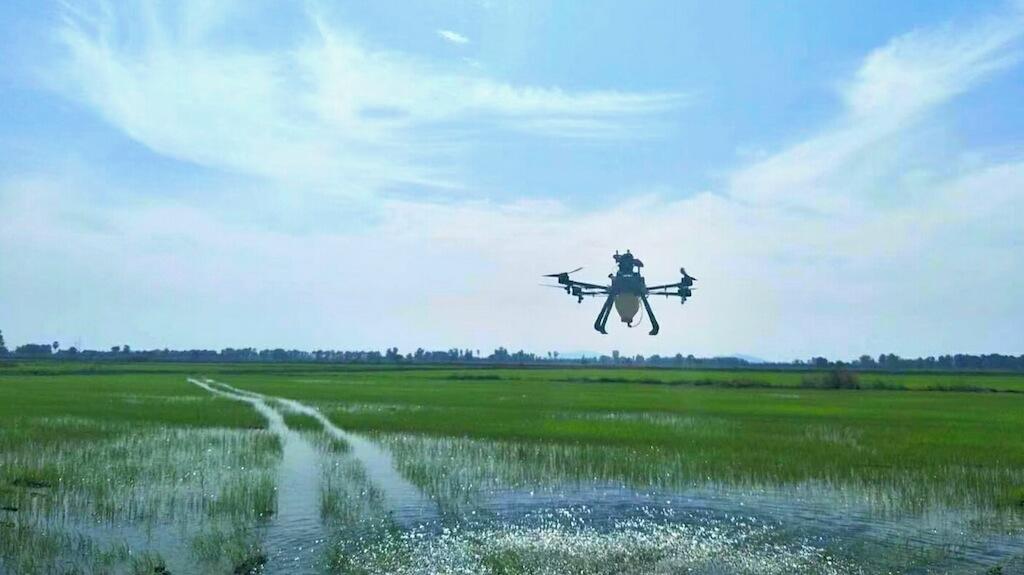 M4H Hybrid Drone Sprayer