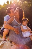 séance photos famille dans le vaucluse par Diane souazé  photographe professionnelle