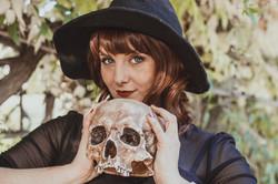 Séance photos halloween pin up sorciere - l'isle sur la sorgue