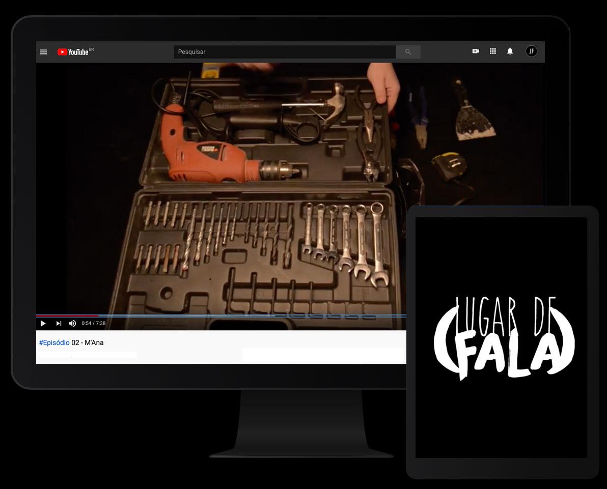 Web série - LUGAR DE FALA episódio 2