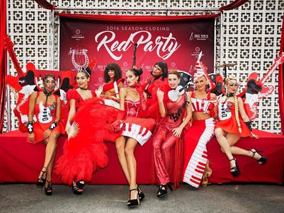 RED Closing party 2016 Nikki Beach Marbella - show by Evgenia Ozma