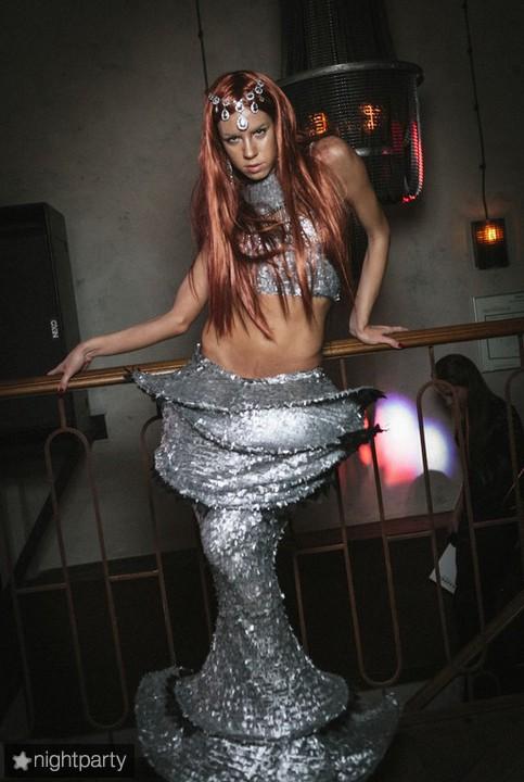Mermaid ( красные волосы)