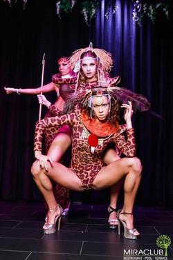 шоу в стиле африка