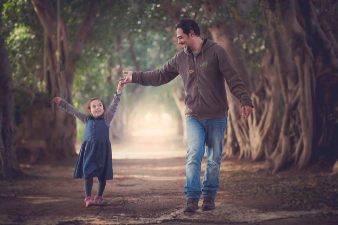 צילום משפחה בטבע