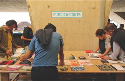 Montagem XIX Bienal Arquitectura de Chile