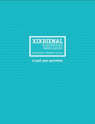 Catalogo XIX Bienal Arquitectura de Chile