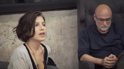 Paula Monroy e Agnaldo Farias