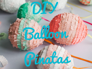 DIY Balloon Pinatas