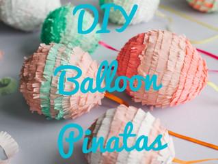 DIY Balloon Pinatas