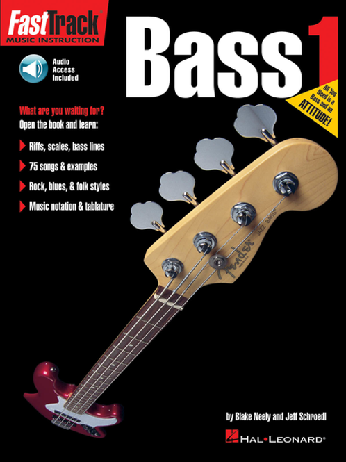 Fast Track Bass Book 1