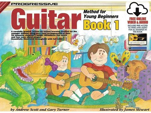 Progressive Guitar Method For Young Beginners (Book 1)